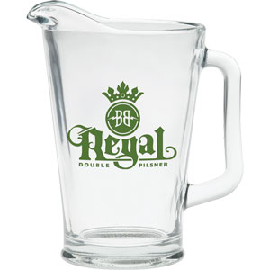 GLASS BAR PITCHER