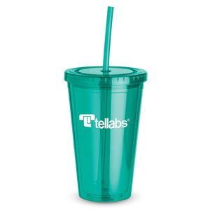 DOUBLE WALL ACRYLIC TUMBLER, 16 OZ