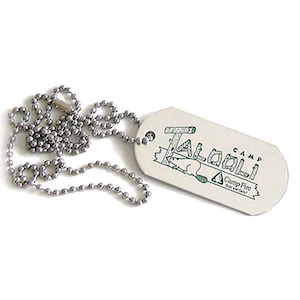 DIE STRUCK DOG TAG NECKLACE