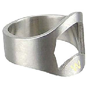 ENGRAVED FINGER RING BOTTLE OPENER