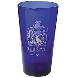 17 OZ MIXING GLASS - COBALT BLUE