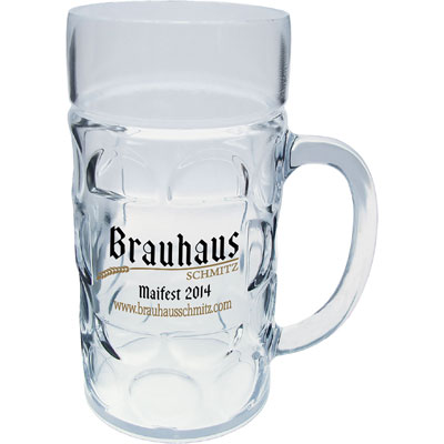 1 LITER HIGH QUALITY PLASTIC GERMAN MUG