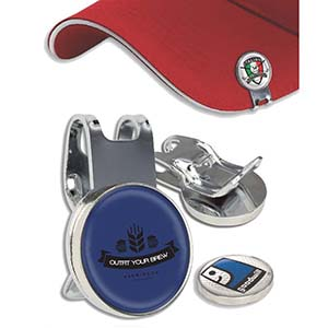 HAT CLIP WITH BOTTLE OPENER & BALL MARKER