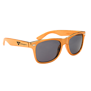 METALLIC FRAMED MALIBU SUNGLASSES