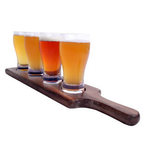 THE BEER TASTING TRAY