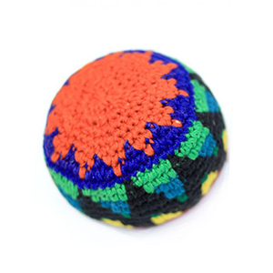 CUSTOM CROCHETED WOVEN HACKI SAC