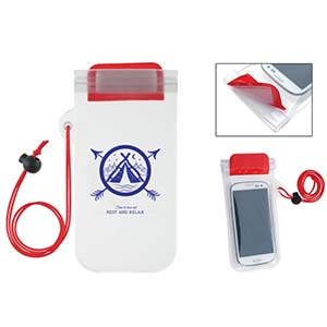 WATERPROOF PHONE POUCH NECK CORD